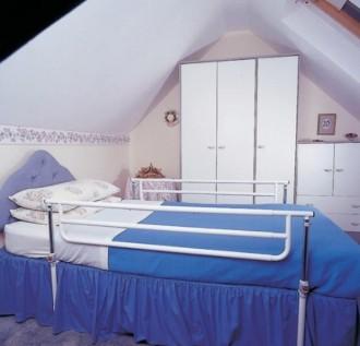 Barrière de lit médicalisé double - Devis sur Techni-Contact.com - 1