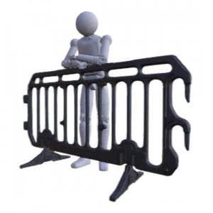 Barrière de police en polyéthylène - Devis sur Techni-Contact.com - 2