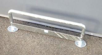 Barrière de protection galvanisée - Devis sur Techni-Contact.com - 1