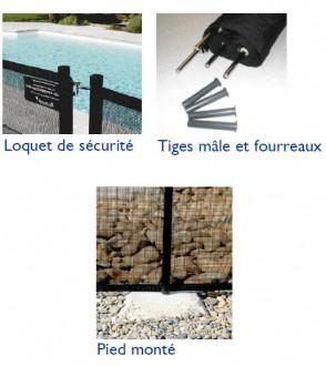 Barrière de sécurité souple pour piscine privée - Devis sur Techni-Contact.com - 2