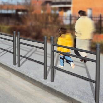 Barrière de ville fixe 1.57 m - Devis sur Techni-Contact.com - 3