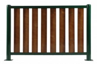 Barrière de ville lames en bois - Devis sur Techni-Contact.com - 1