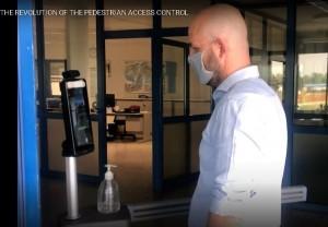 Terminal reconnaissance faciale avec contrôle température - Devis sur Techni-Contact.com - 1