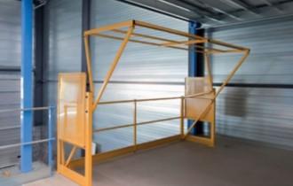Barrière écluse de sécurité 3000 x 1800 mm - Devis sur Techni-Contact.com - 1