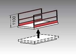 Barrière latérale de sécurité pour table élévatrice - Devis sur Techni-Contact.com - 1