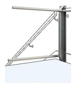 Barrière sécurité escalier double bras - Devis sur Techni-Contact.com - 1
