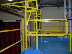 Barrière écluse de sécurité basculante type B4 - Devis sur Techni-Contact.com - 3