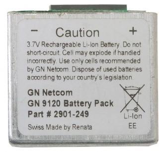 Batterie pour casque sans-fil Netcom - Devis sur Techni-Contact.com - 1