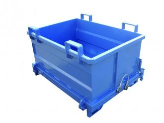 Benne à déchets à fond ouvrant 2000 Litres - Devis sur Techni-Contact.com - 2