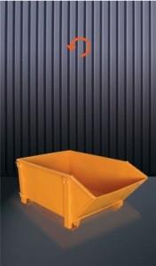 Benne à déchets basculante - Devis sur Techni-Contact.com - 1