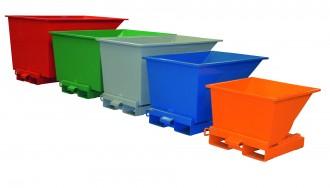Benne à déchets pour charges lourdes - Devis sur Techni-Contact.com - 1