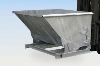 Benne basculante 1000 L - Devis sur Techni-Contact.com - 1