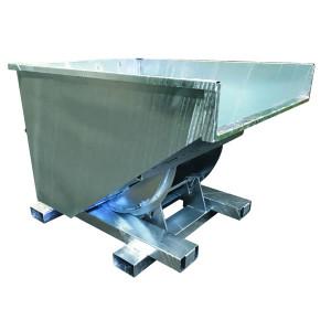 Benne basculante galvanisée BBASP - Devis sur Techni-Contact.com - 1