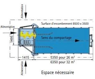 Benne conteneur de déchets - Devis sur Techni-Contact.com - 2