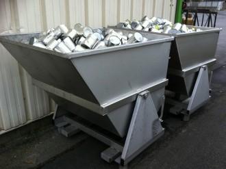 Benne spéciale pour stockage et manutention - Devis sur Techni-Contact.com - 1