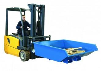 Benne surbaissée à déchets - Devis sur Techni-Contact.com - 2