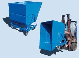Bennes à déchets 675 à 1350 litres - Devis sur Techni-Contact.com - 2