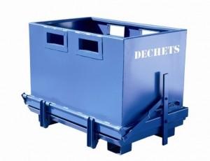 Bennes à fond ouvrant de 700 à 1800 litres - Devis sur Techni-Contact.com - 1
