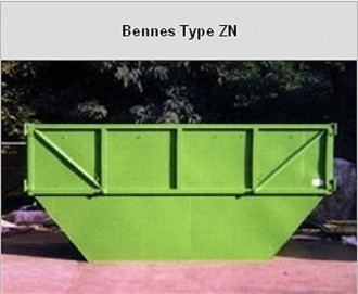 Bennes de chantier acier - Devis sur Techni-Contact.com - 3