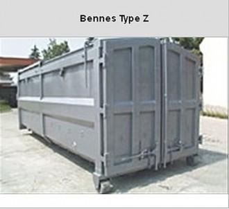 Bennes transportables acier - Devis sur Techni-Contact.com - 1