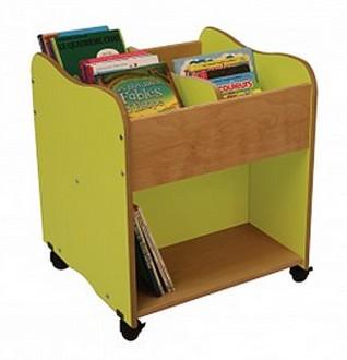 Bibliothèque 4 cases pour enfants - Devis sur Techni-Contact.com - 1