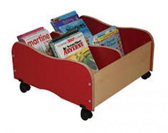 Bibliothèque 4 cases pour enfants - Devis sur Techni-Contact.com - 2