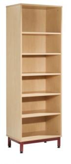 Bibliothèque en bois à 6 étagères - Devis sur Techni-Contact.com - 1