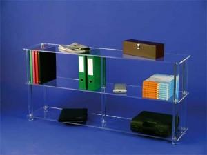 Bibliothèque large en altuglas - Devis sur Techni-Contact.com - 3