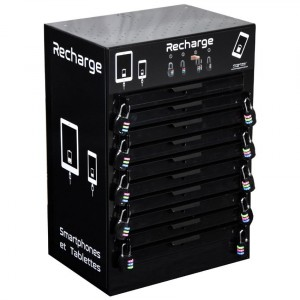 Bloc 10 Casiers Smartphones et Tablettes - Devis sur Techni-Contact.com - 1