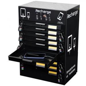 Bloc 10 Casiers Smartphones et Tablettes - Devis sur Techni-Contact.com - 2