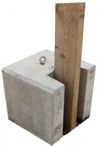 Bloc beton pour palissade - Devis sur Techni-Contact.com - 1