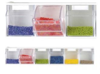 Bloc tiroirs muraux superposables - Devis sur Techni-Contact.com - 1