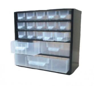 Bloc tiroirs transparents - Devis sur Techni-Contact.com - 1