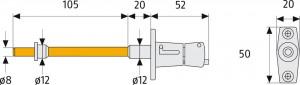 Bloque-volet verrouillage à bouton - Devis sur Techni-Contact.com - 4