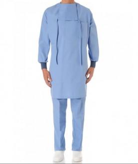 Blouse casaque de chirurgie à bavette - Devis sur Techni-Contact.com - 1
