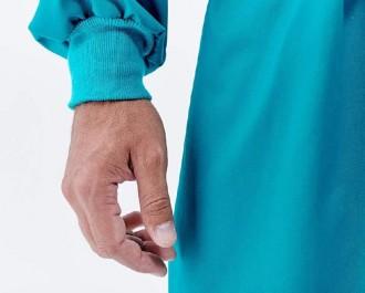 Blouse casaque de chirurgie à bavette - Devis sur Techni-Contact.com - 3