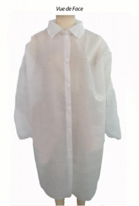 Blouse de protection jetable EPI - Devis sur Techni-Contact.com - 1