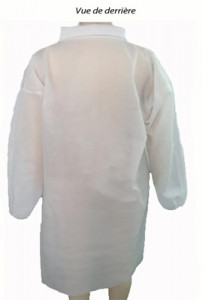 Blouse de protection jetable EPI - Devis sur Techni-Contact.com - 2