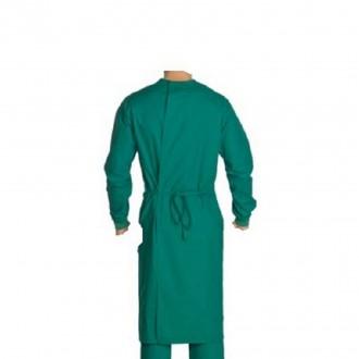Blouse médicale casaque à bavette 100% Coton - Devis sur Techni-Contact.com - 2