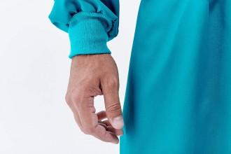 Blouse médicale casaque à bavette 100% Coton - Devis sur Techni-Contact.com - 3