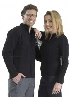 Blouson zippé avec manches à côtes - Devis sur Techni-Contact.com - 1