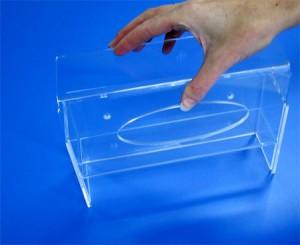 Boîte à mouchoirs plexi - Devis sur Techni-Contact.com - 2