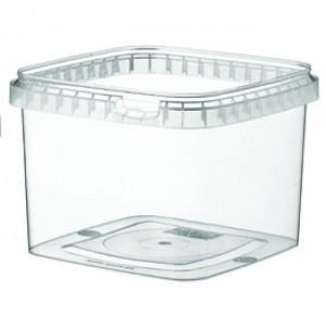 Boîte alimentaire en plastique carrée - Devis sur Techni-Contact.com - 1