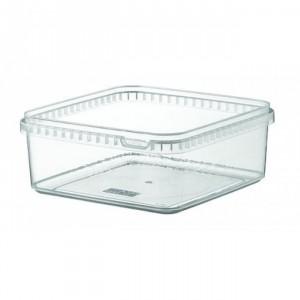Boîte alimentaire en plastique carrée - Devis sur Techni-Contact.com - 2