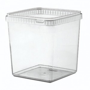 Boîte alimentaire en plastique carrée - Devis sur Techni-Contact.com - 3