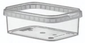Boîte alimentaire en plastique rectangulaire - Devis sur Techni-Contact.com - 1