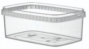 Boîte alimentaire en plastique rectangulaire - Devis sur Techni-Contact.com - 5