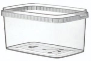 Boîte alimentaire en plastique rectangulaire - Devis sur Techni-Contact.com - 6
