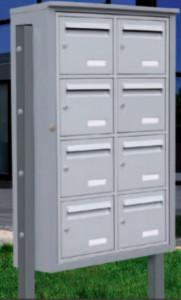 Boîte aux lettres pose en extérieur  - Devis sur Techni-Contact.com - 1