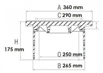 Boîte de branchement en fonte C250 - Devis sur Techni-Contact.com - 2